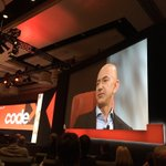 """Jeff Bezos says the reason he bought the @washingtonpost is because its an """"important institution."""" #codecon https://t.co/5arsQdWdY5"""