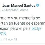 ESCANDALO: Santos apoyando a Pablo Armero. https://t.co/3TjqMLPITs
