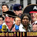 OJO #ECUADOR cuando vengan a pedir el voto! #ElPasadoNuncaMas @JoannaJativa @GabrielaEsPais @MashiRafael Twitter es https://t.co/KEuOEkW1St