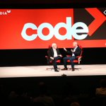 .@JeffBezos says that he reads every email but doesnt respond to every one. Give it a try: Jeff@Amazon.com #codecon https://t.co/lpE1EYX2LM