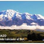 El punto más cercano al sol! El Chimborazo #Ecuador Foto de @jraudiovideo #Fotoec https://t.co/KChx9Pkzhc