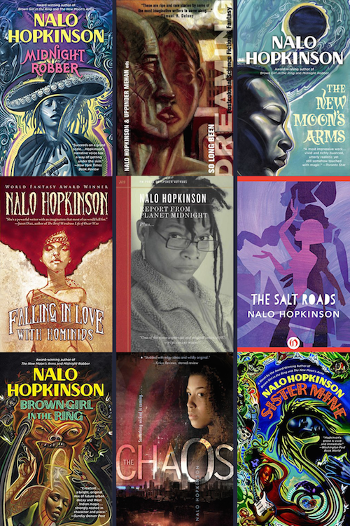 We're celebrating the work of Nalo Hopkinson! Story, round-table, reviews, and more: https://t.co/3L5WwZWC6h https://t.co/2tnD9RMJqs
