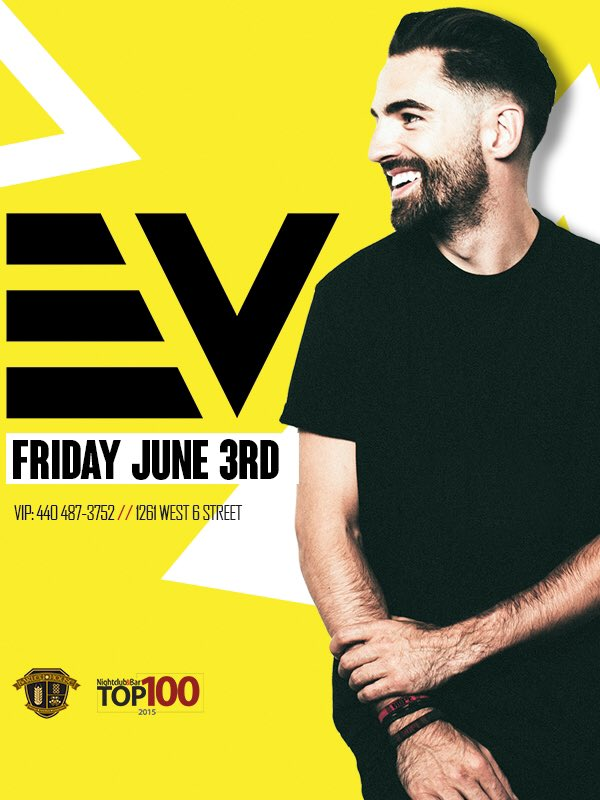 This Friday @djEV's back in town for his exclusive monthly residency only here at @barleyboyscle !!! https://t.co/9JHjADJS7X