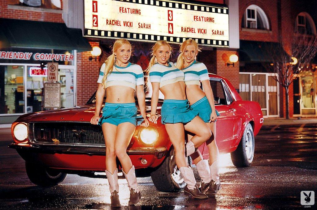 Cybergirl - The Satterfield Triplets ! Best of #Playboy #Erotic ! See more >>  <<