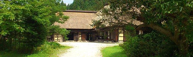 <マヨイガ(三浦家)>マヨイガとは山の奥に突然現れる無人の豪邸。一度みたら二度とみることはできない。三浦家の