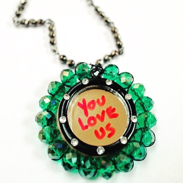 Make your own Manic Street Preachers @Manics inspired You Love Us Necklace #CraftInTheCity https://t.co/rgKXigmSHf https://t.co/9zu9D7Ef5j