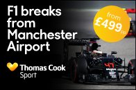 BeThere with a @thomascooksport F1 Break direct from Manchester from £499pp!