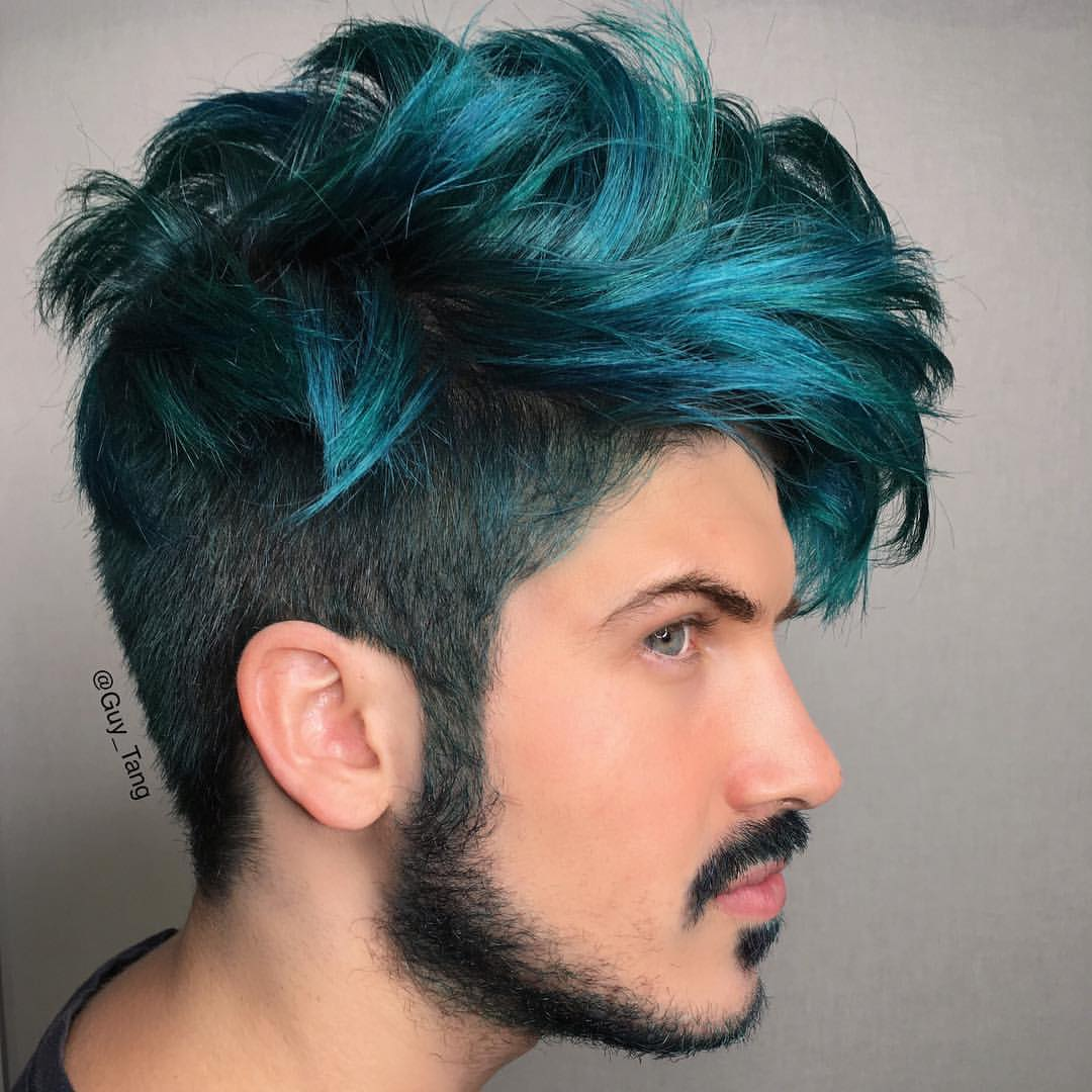 Guys with dyed hair