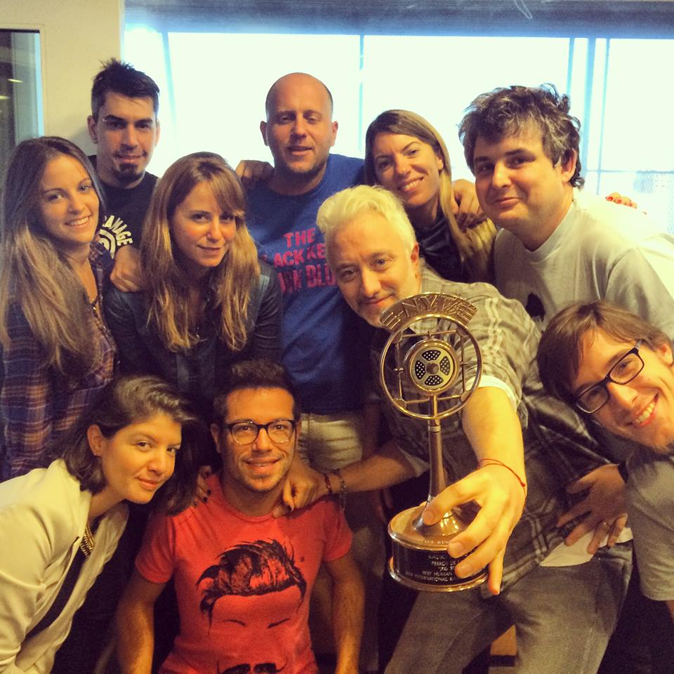 Por 4° año consecutivo estamos nominados a un NEW YORK FESTIVAL RADIO AWARD. Vamos Perros!!!! https://t.co/VGeuVmHWAu