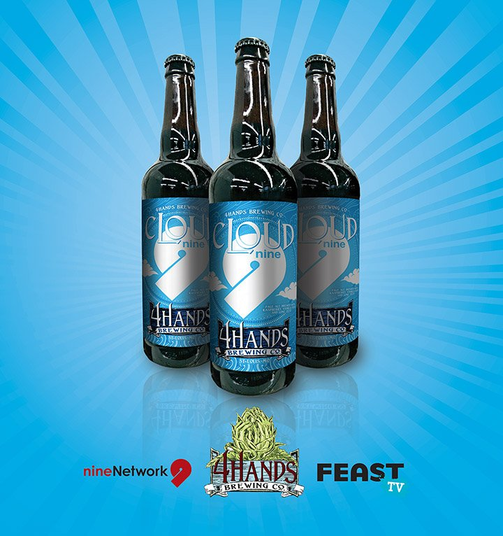 On June 25 we launch the first-ever #NineBeer, Cloud 9, created by @4HandsBrewery. Info @ https://t.co/0d11qd1wfp https://t.co/0T33z5ch3d