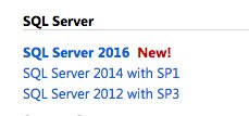 Ladies and gentlemen, start your downloads. SQL Server 2016 is available on MSDN. https://t.co/6dQMOja2vx https://t.co/HpEcpO3dWB