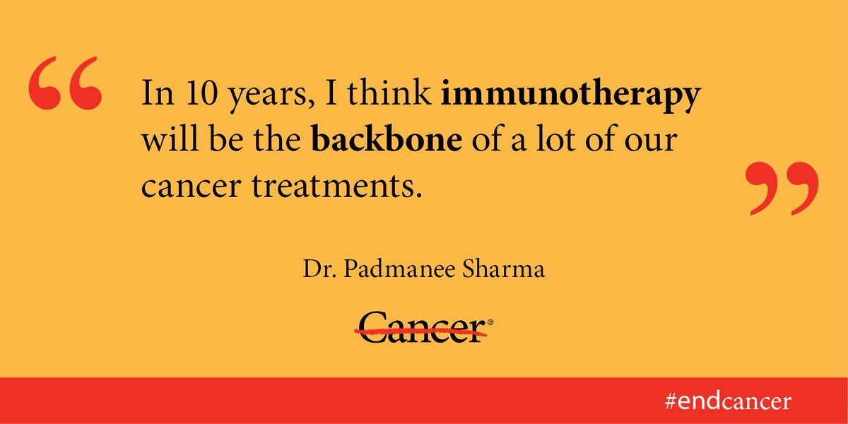 Learn more about immunotherapy and which cancer patients should consider it: https://t.co/GjOUMcuSvL #endcancer https://t.co/kPhliTpP0W