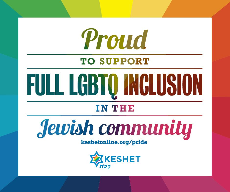 Celebrate #Pride Month with resources, event listings + readings from @KeshetGLBTJews: https://t.co/9TguSYVItf https://t.co/oj3cR8s5qr