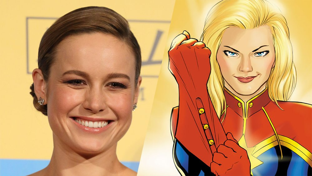 .@brielarson is the frontrunner to play Captain Marvel (EXCLUSIVE)