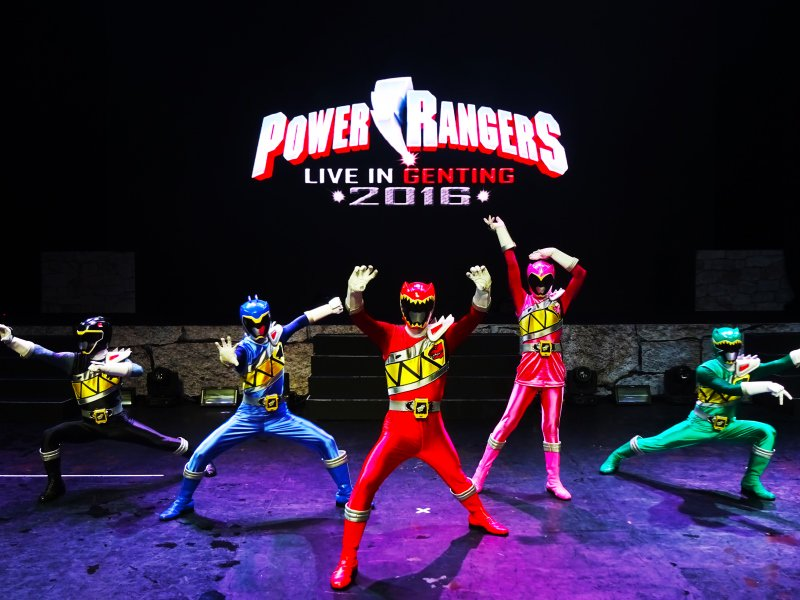 RT @travel3Sixty: Go Go Power Rangers!