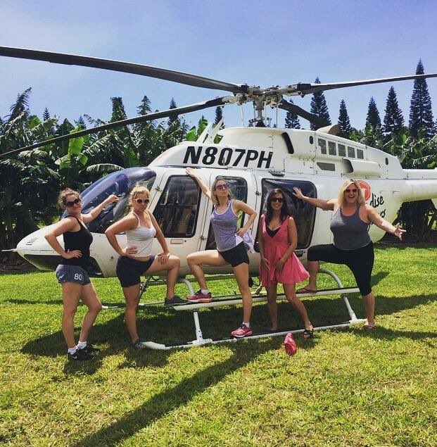 Happy Birthday @amyschumer and @NikkiGlaser! @bridgeteverett and @kimcaramele r also the truth. #helicopters https://t.co/teNr8XJRFc