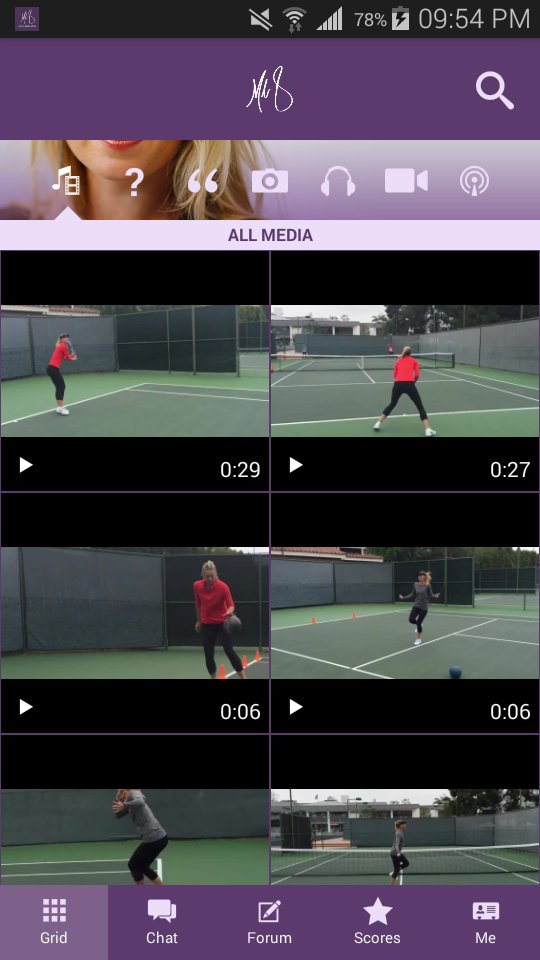 RT @aleHimmel: Maria just posted a new video on her App. https://t.co/YX1tsaZrnQ work  practice. I miss you ???????????? @MariaSharapova https://t.c…