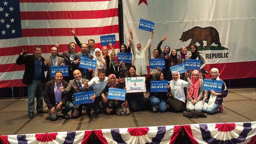 When @BernieSanders was in Anaheim last week, Arab Americans were there to support #Bernie2016 #HabibiBernie https://t.co/jsjmarYl2g