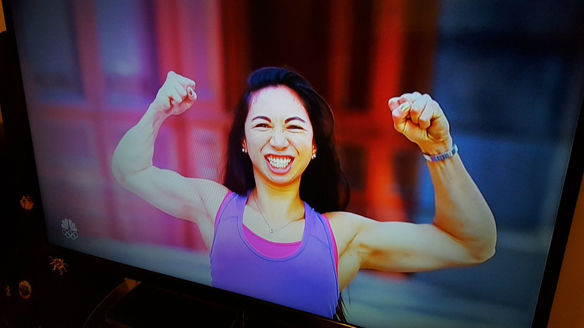 Just saw your run on @nbcninjawarrior,  @NickityNatNat! You are incredible!