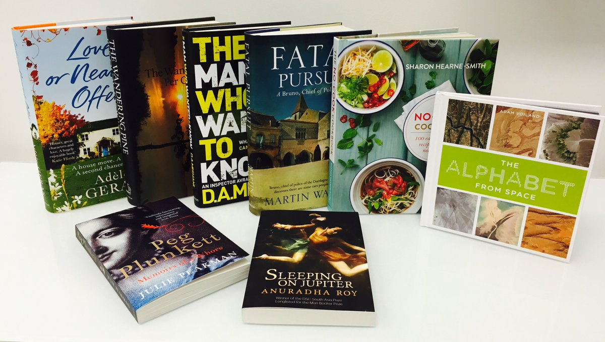 Is it just us, or is our publication day book bundle looking EXTRA wonderful today?! RT by 5 for a chance to win! https://t.co/Cn59AmRbg2