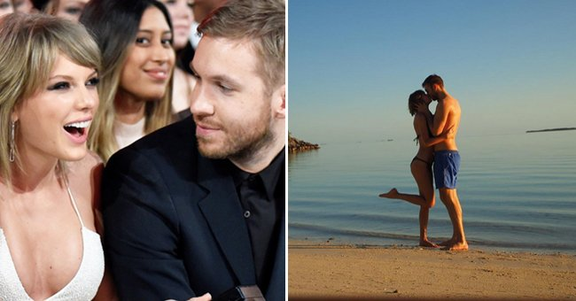 Taylor Swift and Calvin Harris' romance in pictures...