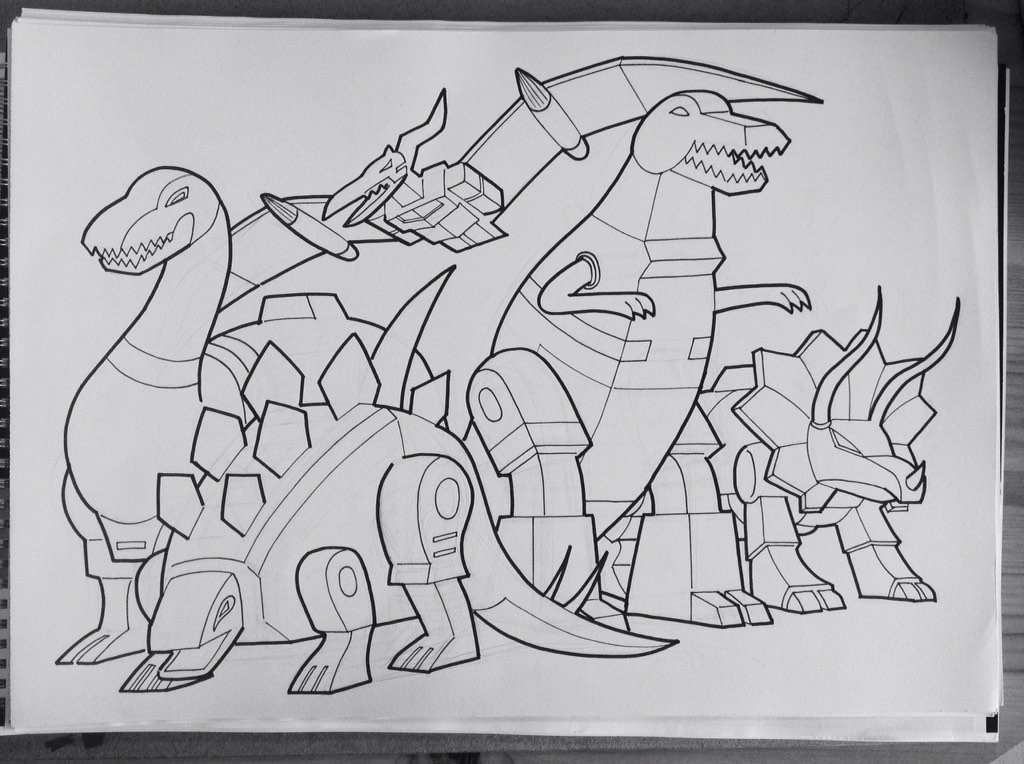 My favourite new REPAINTED colouring sheet is this one, but how would you repaint it? #Dinobots @LancasterComics https://t.co/v3DL4tx54g
