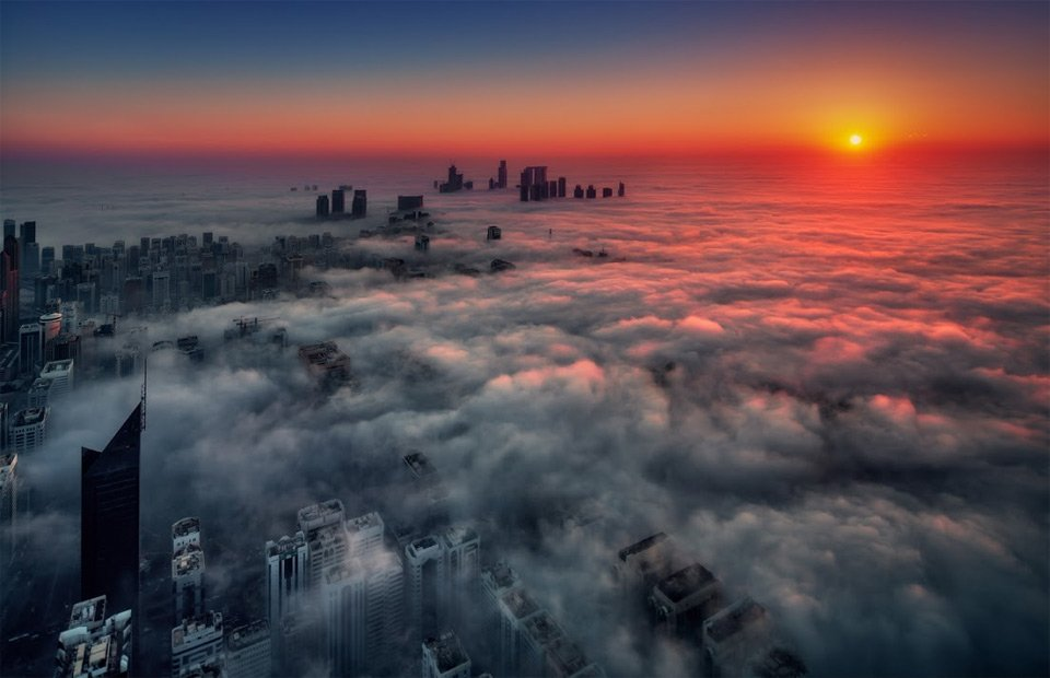 Abu Dhabi Sunrise | Photography by ©Beno Saradzic https://t.co/QBOQRciKlX
