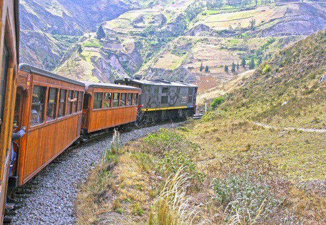 Dramatic/romantic yes. But what's so devilish about Ecuador's 'Devil's Nose Train'?