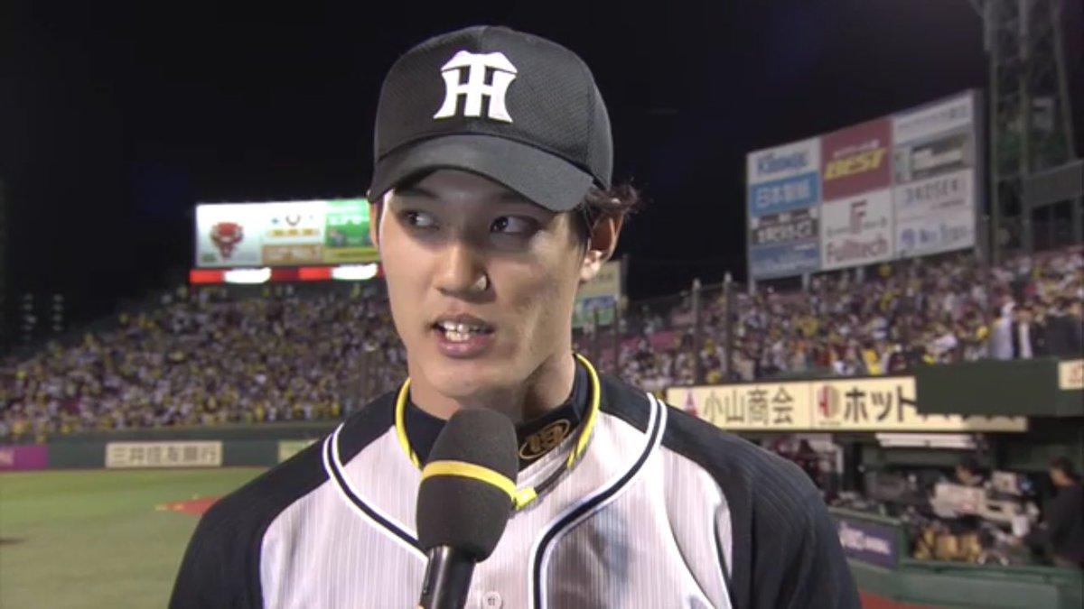 甲子園と違ってヤジも少なかったので投げやすかったです!  ※みなさん、優しくしてあげましょう。  #hanshin #tigers #阪神タイガース https://t.co/NJCRrYBZtO
