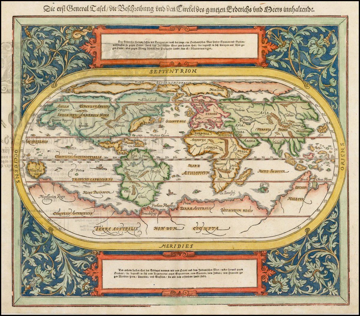 The Only City To Make It To Munster S 1588 World Map Was Calicut