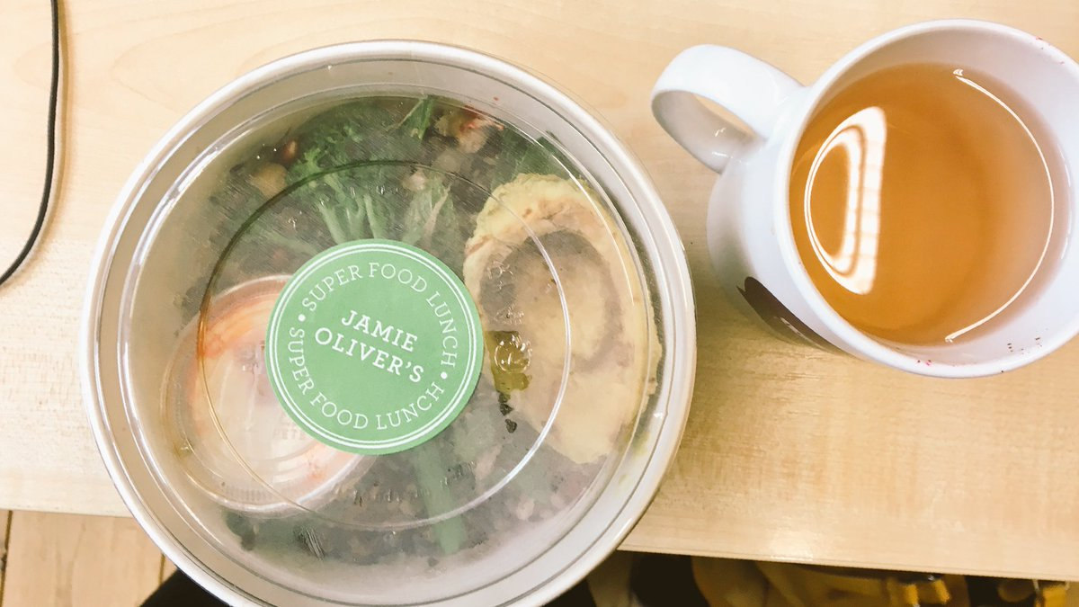 RT @hermionewright: Have a cold, needed green food. As if by magic @jamieoliver delivers! Even works well with Lemsip.  #JamiesDeliveroo ht…