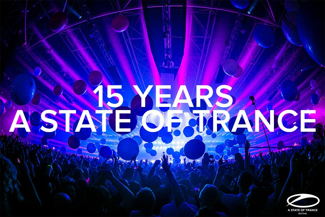 Today we celebrate the 15th anniversary of @asot!