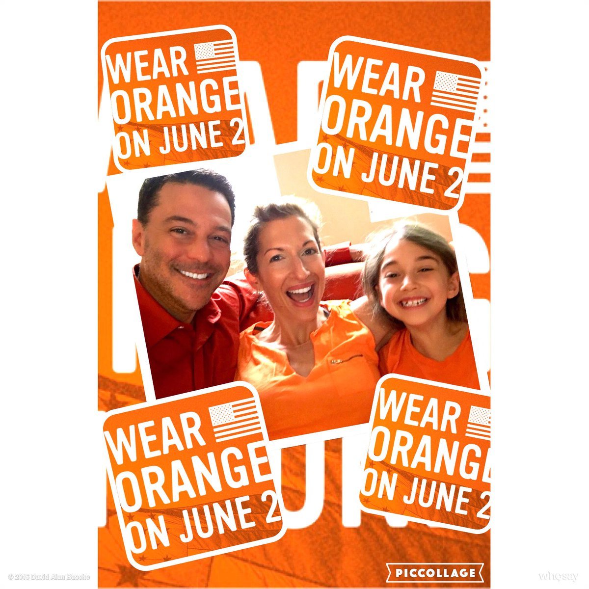 Our family stands with @everytown today and every day to end gun violence @alysiareiner @momsdemand #WearOrange https://t.co/7gL2s2TZ0s