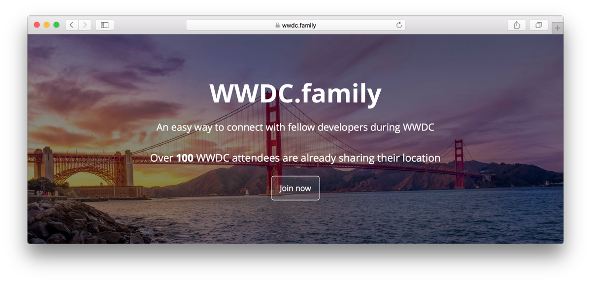 Announcing https://t.co/ci5sKwtD6c, an easy way to connect with your fellow developers during WWDC, join now ✨ https://t.co/iv3Tp2QYI2