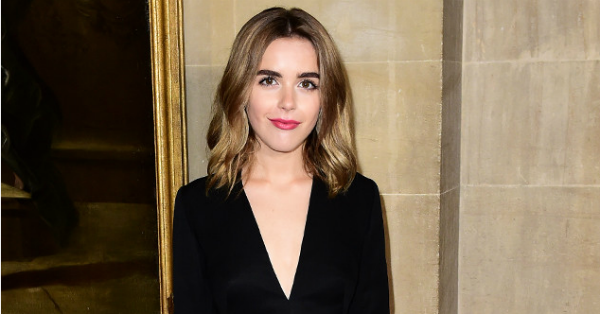 Kiernan Shipka's bedazzled Dior pantsuit is perfection: