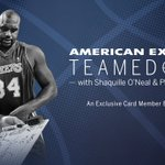 RT @AmericanExpress: Card Members can get tix now to Amex Teamed Up with @Shaq & @PhilJackson11 in New York City! https://t.co/fO366ppyUG h…