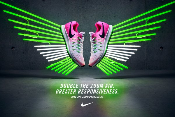 The new Nike #AirZoomPegasus delivers double the speed in a trainer built to go the distance https://t.co/dChYUkfSKg https://t.co/KRGWLayqBL