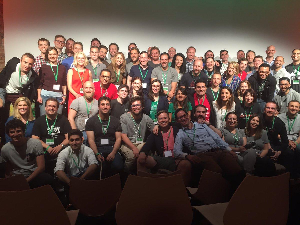 .@StartupWeekend and @techstars unite! #europesummit https://t.co/6r9E7xnp7N