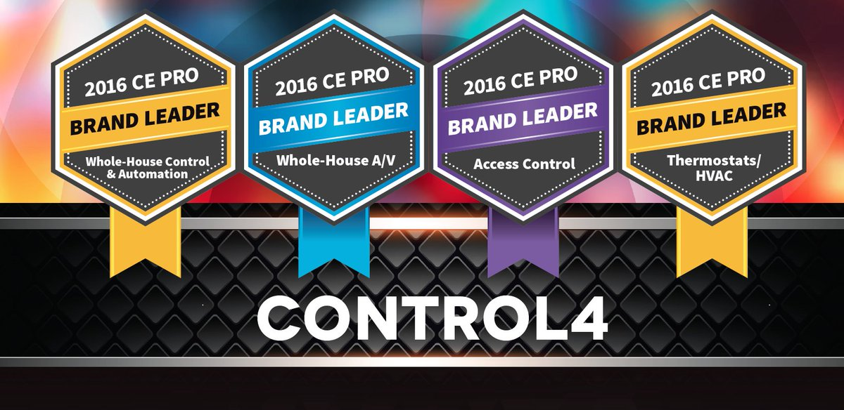We are honored to be voted a 2016 @ce_pro Brand Leader in four different categories! Thank you #C4Dealers! https://t.co/dGpgEwJkLO