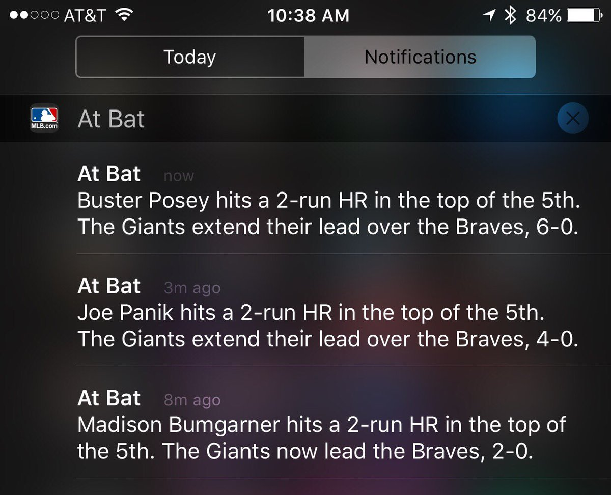 OMG YOU GUYS THIS IS CRAZY LOL #SFGiants https://t.co/Y46evEeFLq