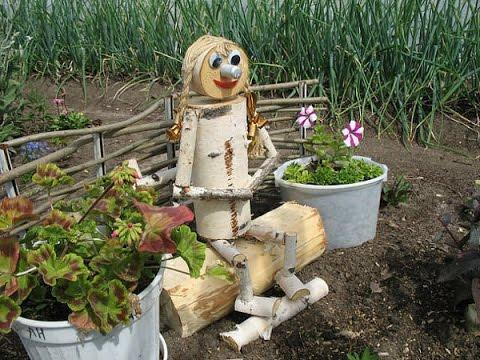 Поделки в саду и огороде фото своими руками