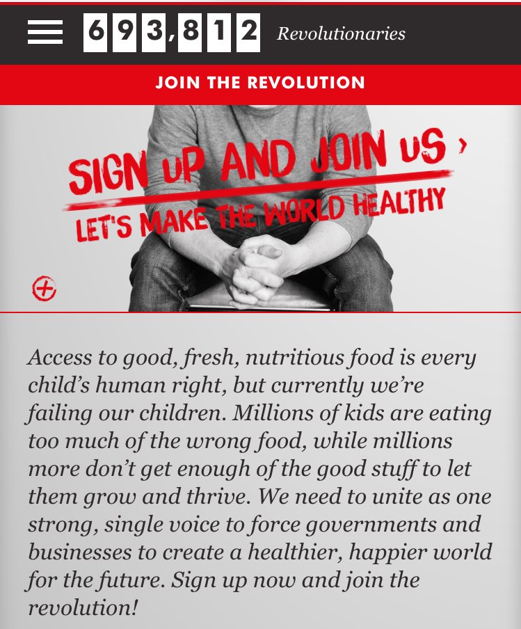 Sign up now and join our #FoodRevolution https://t.co/wyFXubDKjc https://t.co/Cen6IYmeHT