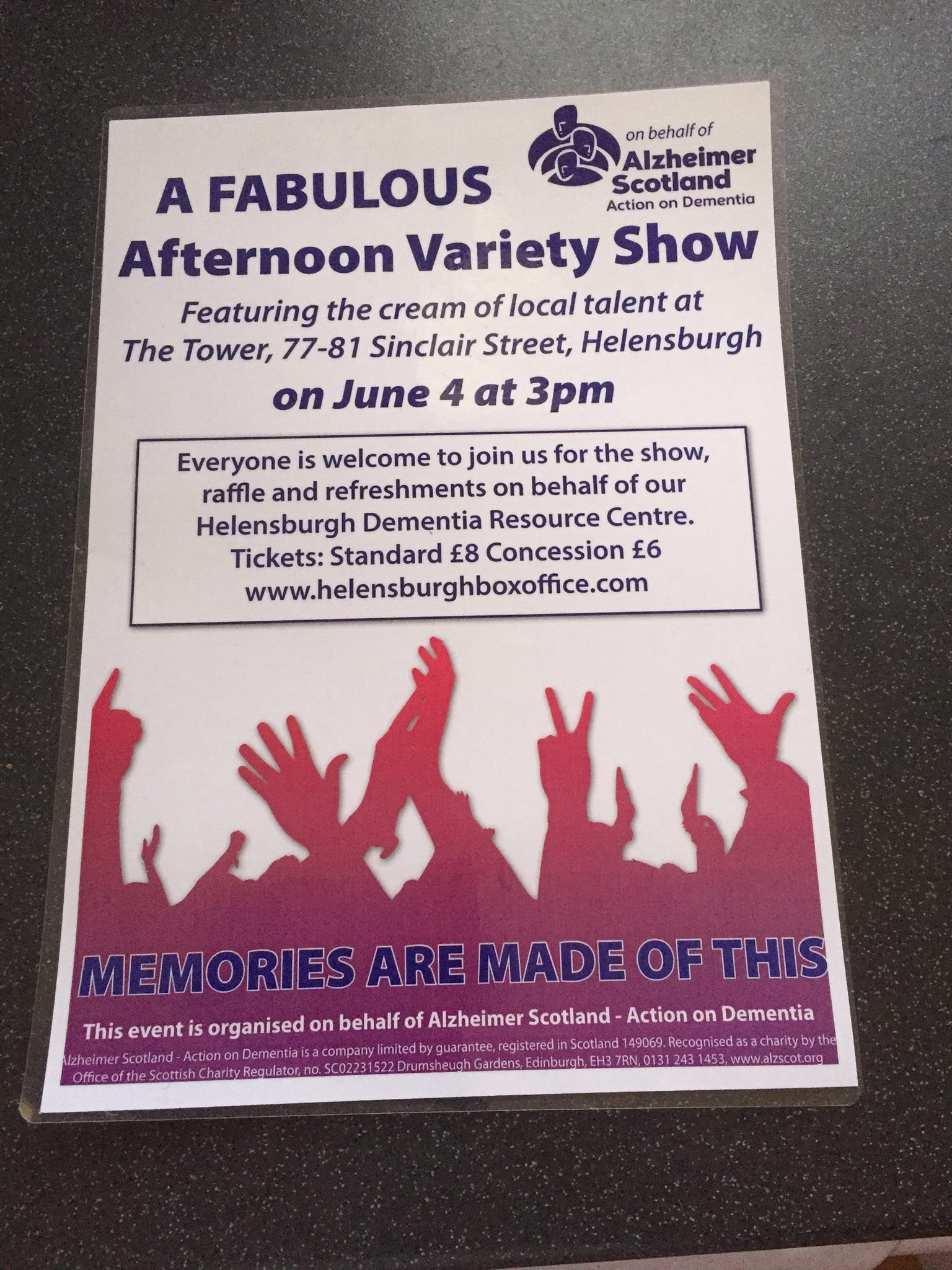 Fab lineup compered by Stewart Maule. Tickets via @thetowerDAC or @alzscot Helensburgh DRC @ReidVal537 #DAW2016 https://t.co/68i5MmLDJ7