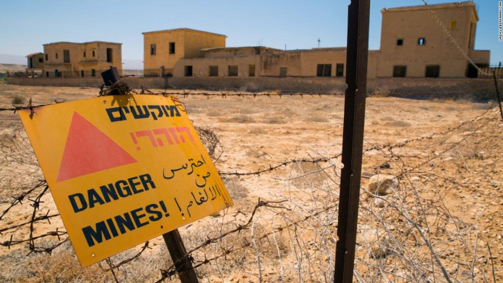 Decades after war, churches near Jesus' baptism site to be cleared of mines: