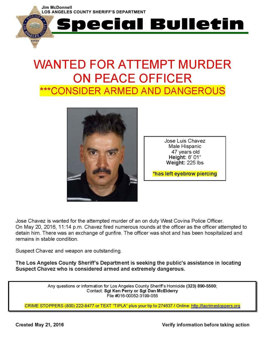 WANTED Armed & Dangerous Suspect shooting of West Covina Police officer.Call 911 https://t.co/YosKwiJZPP #LASD #SGV https://t.co/5K4VN75v7W