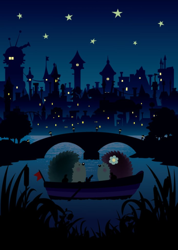 RT @hitRECord: Who's down to write a romantic tale for these two hedgehogs? https://t.co/RrNvIfAtkc https://t.co/X82tHkEHzG