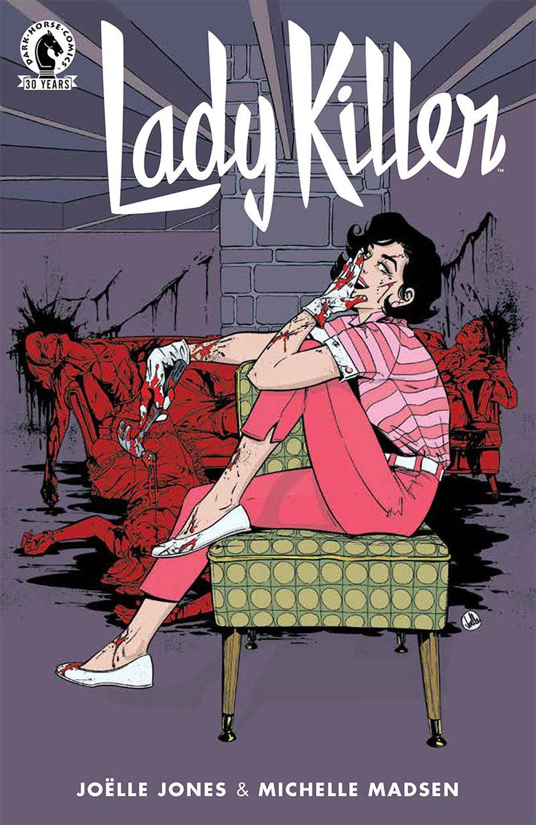 Lady Killer returns in August from @DarkHorseComics.  Check out that awesome cover! https://t.co/pKMGcQMO09 https://t.co/DPOBY9vUJx