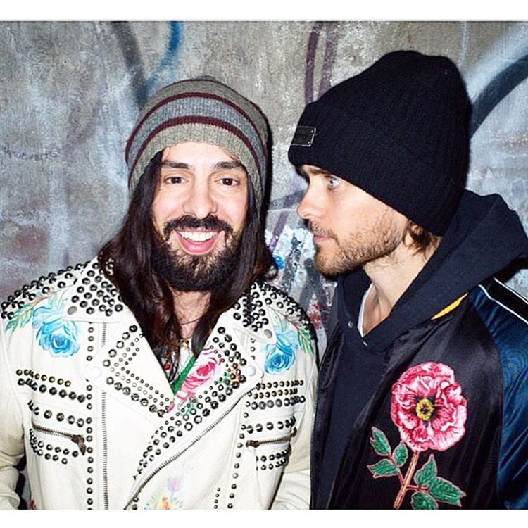Me and the legend himself - Alessandro Michele https://t.co/kmiGBpHf1W