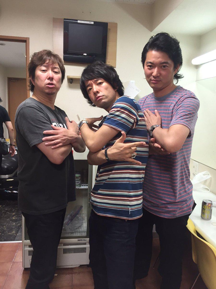 岡山クレイジーママキングダムでTRICERATOPS!!! ライブはいつもカッコイーに決まってるけど今回はちょっとエモーショナルな感じ? オトナなトライセラでした♪ https://t.co/P0JTT8IetF