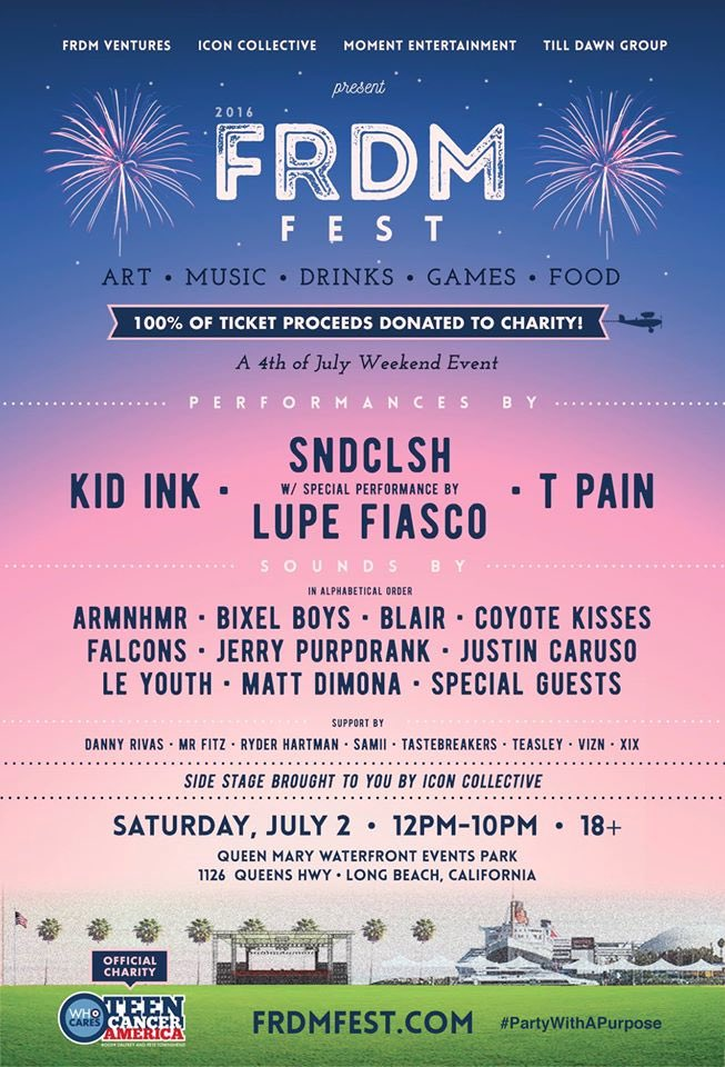 Retweet this flier for a chance to win a pair of tickets!!! Go! #frdmfest #wearepowertools https://t.co/rYDQQgYcI7